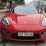 Ngắm xe sang Porsche Panamera Turbo Exclusive ở Quảng Ninh