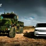 Xe sang Range rover đua tốc độ với gã khổng lồ Terminator