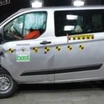 Ford Transit Custom đạt điểm an toàn tối đa