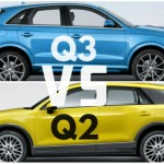 So sánh xe sang Audi Q2 và Audi Q3