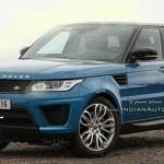 Rò rỉ ảnh xe sang Range Rover Sport bản nâng cấp 2017