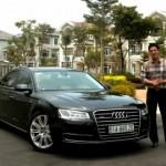 Siêu mẫu Bình Minh lái Audi và nói chuyện về ô tô