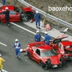 Những vụ siêu xe tai nạn nổi tiếng nhất thế giới
