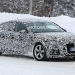 Gặp xe sang Audi A5 2018 trên đường chạy thử