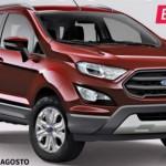 Ảnh dựng gần chính xác Ford EcoSport 2017