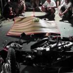 Video giao thông ghi lại cảnh 2 xe máy đâm nhau 1 người chết