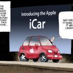 Những dự đoán liên tưởng hài hước về xe điện Apple iCar
