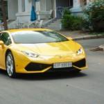 Cường đôla lái siêu xe Lamborghini Huracan tăng tốc ấn tượng