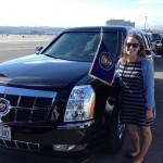 Choáng nữ tài xế lái xe siêu sang cho tổng thống Mỹ Obama ở Hà Nội