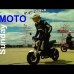 """Những màn đốt lốp siêu xe mô tô tại """"ngày tốc độ mô tô"""""""