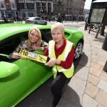 Siêu xe Lamborghini Huracan đầu tiên làm taxi