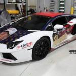 Siêu xe Lamborghini Aventador để vận động bầu cho tỷ phú Donald Trump