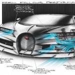 Những điểm đặc biệt trên siêu xe Bugatti Chiron (phần 2)