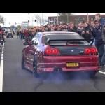 Video dàn xe khởi hành ở lễ hội siêu xe GUMBALL 3000