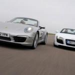 Audi dùng chung động cơ tăng áp kép của Porsche