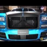 Vẻ đẹp của xe siêu sang Rolls royce wraith độ bởi Mansory