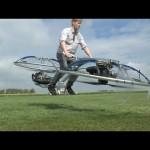 Người đàn ông tự chế phương tiện bay cá nhân độc đáo Hoverbike