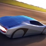 Xe chạy hoàn toàn bằng năng lượng mặt trời đầu tiên trên thế giới