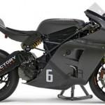 Siêu xe mô tô điện Victory RR tham gia giải đua TT Zero 2016