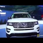 Ngắm tận mắt xe SUV cỡ lớn Ford Explorer Platinum 2016