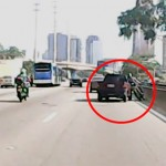 Người đi xe ga lao thẳng vào gầm xe tải bị chèn nát người