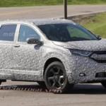 Xe Honda CR-V thế hệ mới 2018 chậm lịch ra mắt