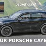 Video xe sang Porsche Cayenne mới hoàn toàn tiếp tục chạy thử