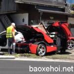 Xôn xao siêu xe Ferrari Laferrari giá 4 triệu đô bị tai nạn