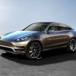 Xuất hiện ảnh dựng xe crossover coupe Tesla Model Y