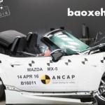 Xe thể thao mui trần Mazda MX-5 đạt độ an toàn cao nhất