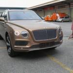 Xe siêu sang Bentley Bentayga 6 tỷ đồng về tay đại gia Hà Nội