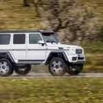 Mercedes-Benz G550 4×4 2017 giá đắt hơn cả G63 AMG