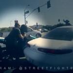 Hành trình truy bắt chiếc xe SUV của người phụ nữ vi phạm