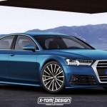 Ngắm xe sang Audi A8 thế hệ mới bản gần giống thực tế