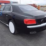 Xe siêu sang Bentley Flying Spur V8 màu đen về Việt Nam