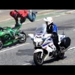 Những tình huống cảnh sát giao thông truy bắt người vi phạm trên đường phố