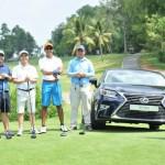 Lexus là nhà tài trợ chính cho giải đấu golf Forbes Việt Nam 2016