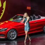 Xe sang Mercedes C-Class mui trần mở bán chính thức