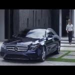 Ấn tượng xe sang thế hệ mới Mercedes E class 2017