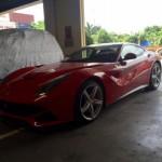 Siêu xe Ferrari F12 Berlinetta 15 tỷ đồng mang biển Hải Phòng