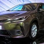 Toyota Corolla 2017 phiên bản sản xuất ra mắt ở Nga