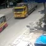 Xe tải đâm vào xe Buýt ở Thái Nguyên do nguyên nhân nào ?