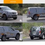 Nissan phát triển SUV từ xe Navara NP300