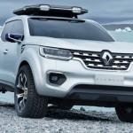 Xe bán tải Renault Alaskan sắp ra mắt chính thức