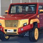 Độ xe bán tải Toyota Hilux thành siêu SUV của người sắt