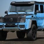 Xe sang Mercedes G500 4×4² độ khác biệt bởi Mansory
