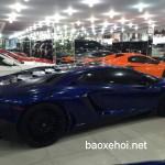 Siêu xe Lamborghini Aventador SV đầu tiên về showroom chờ bán