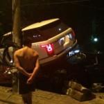 Xe siêu sang Range rover SV autobiography tai nạn ở Hà Nội