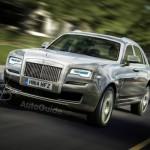 Ảnh chính thức đầu tiên về xe SUV siêu sang Rolls-Royce Cullinan