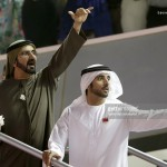 Thủ tướng UAE và Thái tử Dubai đi vi hành bằng tàu điện